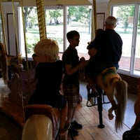 Photo taken at Congress Park Carousel by Kevin Q. on 7/5/2014