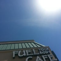 Photo taken at Fuel Your Body Cafe by Cynthia A. on 4/28/2014
