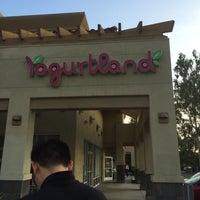Photo taken at Yogurtland by Andrew T. on 11/4/2013