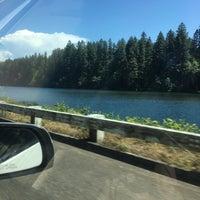 Photo taken at Leaburg Lake by Alesha G. on 6/5/2016