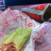 Photo taken at Jimmy John's by Kimmie P. on 1/19/2013