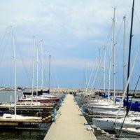 Photo taken at Sheboygan Harbor Center Marina by Sasithorn S. on 5/28/2012