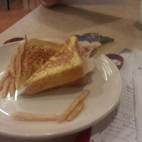 Photo taken at DeNaples Fresh Food Company (University of Scranton) by Liz K. on 4/26/2012