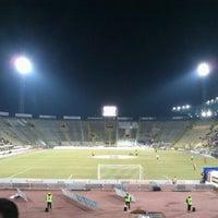 Photo taken at Stadio Renato Dall'Ara by Lorenzo M. on 2/21/2012