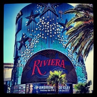 Photo taken at Riviera Hotel & Casino by Basile F. on 9/1/2012