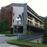 Photo taken at Ròseo Hotel Euroterme by Massimo P. on 6/17/2012