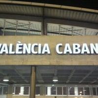 Photo taken at Estació de Tren - València-Cabanyal by Alvaro M. on 3/16/2012