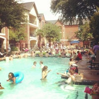 Photo taken at Camden Lofts Pool by Rita R. on 6/23/2012