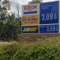 Photo taken at Exxon by Timothy M. on 6/5/2012