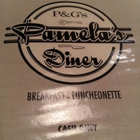 Photo taken at Pamela's P&G Diner by Dana W. on 8/20/2012