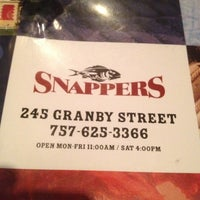 Photo taken at Snappers by Shawn J. on 2/24/2012