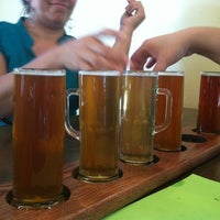 Photo taken at Las Cruces Taproom - Mimbres Valley Brewing Company by Geoff T. on 7/30/2012