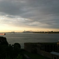 Photo taken at Fort Wadsworth by Mark C. on 6/14/2012