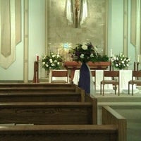 Photo taken at St. Justin Martyr Church by Benjamin Q. on 4/27/2012
