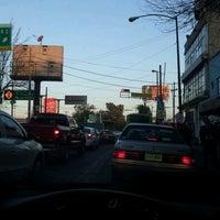Photo taken at Av. Cuitlahúac by Jose E. on 3/13/2012