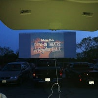 Photo taken at Wellfleet Drive-in and Cinemas by Estefania E. on 5/27/2012