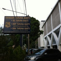 Photo taken at SMA Taruna Bakti by Binu Tjandrawati on 9/4/2012