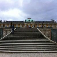 Photo taken at Schloss Sanssouci by Jimena D. on 4/2/2012