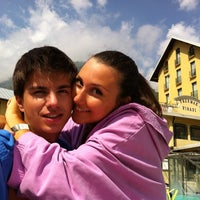 Photo taken at Terme di Vinadio by Alessandro D. on 8/10/2012