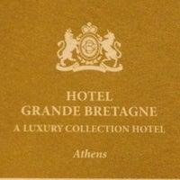 Photo taken at Hotel Grande Bretagne by Mishael S. on 3/22/2012
