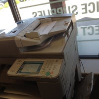 Photo taken at FedEx Office Print & Ship Center by Stephane B. on 5/11/2012