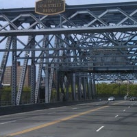 Photo taken at 145th Street Bridge by Rob S. on 4/28/2012