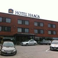Photo taken at Best Western PLUS Hotel Haaga by Evgeniy K. on 6/11/2012