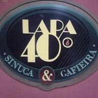 Photo taken at Lapa 40 Graus by Fernanda C. on 3/31/2012