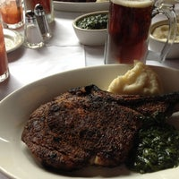 Photo taken at Wolfgang's Steakhouse by Guilherme P. on 6/27/2012