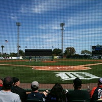 Photo taken at Publix Field at Joker Marchant Stadium by Ben N. on 3/4/2012