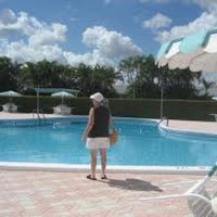 Photo taken at Clubhouse @ Cresthaven Villas by Sandy Pallot K. on 4/20/2012