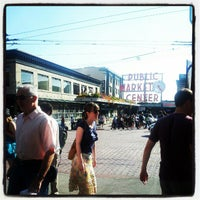 Photo taken at Pike Place Fish Market by Karla G. on 7/22/2012