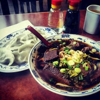 Photo taken at Lao Shan Dong Homemade Noodle House by Sam Y. on 6/28/2012