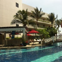 Photo taken at Imperial Hua Hin Beach Resort by Rose M. on 4/13/2012