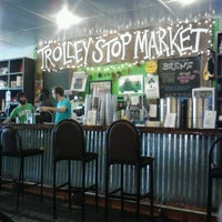 Photo taken at Trolley Stop Market by Antonico T. on 7/11/2012