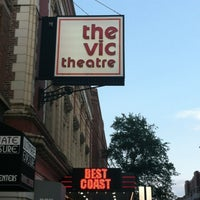 Photo taken at The Vic Theatre by Ashley P. on 7/27/2012