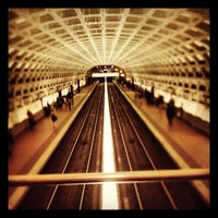 Photo taken at Gallery Place - Chinatown Metro Station by Greg B. on 5/11/2012