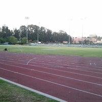 Photo taken at UCLA Drake Track & Field Stadium by Jon B. on 8/27/2012