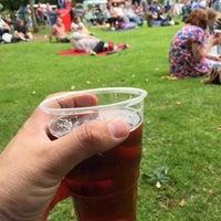 Photo taken at Kingsgate Park by Mike B. on 6/20/2015