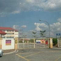 Photo taken at Sekolah Kebangsaan Bandar Setia Alam by Azlan A. on 2/22/2014