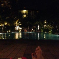 Photo taken at Avillion Port Dickson Pool by Nania A. on 5/2/2014
