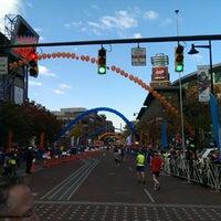 Photo taken at Nationwide Children's Hospital Columbus Marathon & 1/2 Marathon by Jeff S. on 10/20/2013