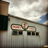 Photo taken at Frank's Roman Pizza by Ask Asheville h. on 7/2/2013