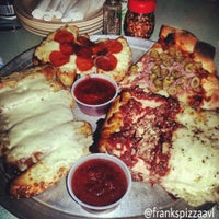Photo taken at Frank's Roman Pizza by Ask Asheville h. on 12/27/2013