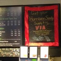 Photo taken at Starbucks by Alexa S. on 10/29/2012