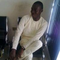 Photo taken at Adewole estate by Babatunde K. on 10/28/2013