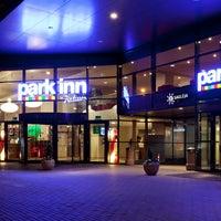 Photo taken at Park Inn by Radisson Kaunas by Artūras G. on 3/6/2014