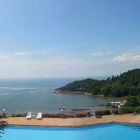 Photo taken at Hinsuay Namsai Resort Rayong by NANNETY☆ on 9/9/2013