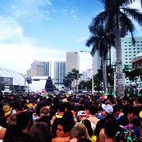 Photo taken at Ultra Music Festival XIV 2012 by Steven G. on 3/29/2014