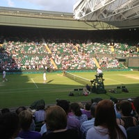 Photo taken at Centre Court by Cagdas T. on 7/4/2013